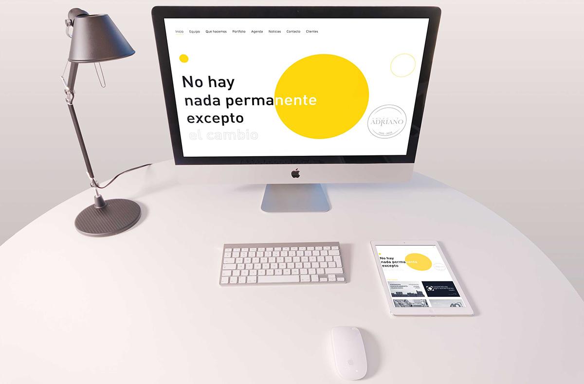 Grupo Adriano web