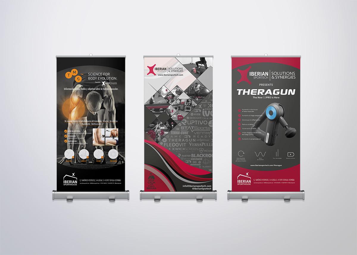Iberian Sportech diseño gráfico